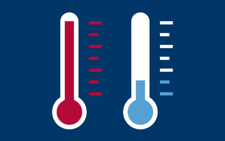 Icons environmental temperature