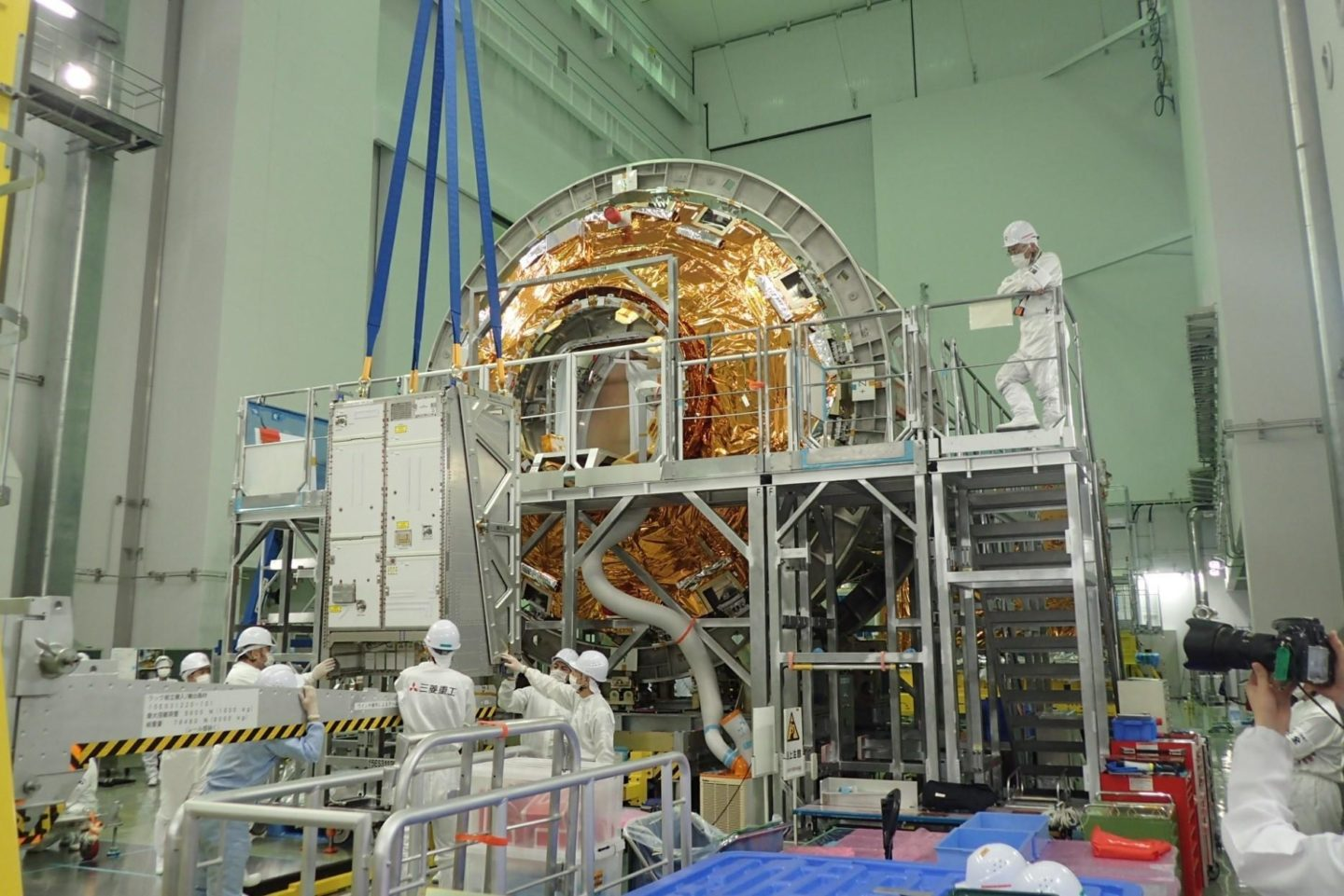 ACLS in final preparation for launch