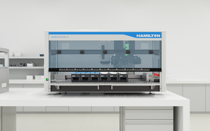 Microlab STAR liquid handling system